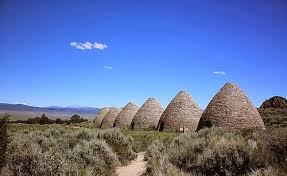 Visit Ward Charcoal Ovens State Park less than an hour's drive from Baker. Click on the ovens above for more information.