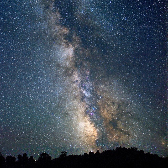 Want to see the Milky Way? Great Basin Astronomy Programs are a great time to do so. Join Dark Sky Rangers every Tuesday, Thursday and Saturday during summer months at Lehman Caves Visitor Center. Please remember: bring a chair, dress warm and remember - red lights only!