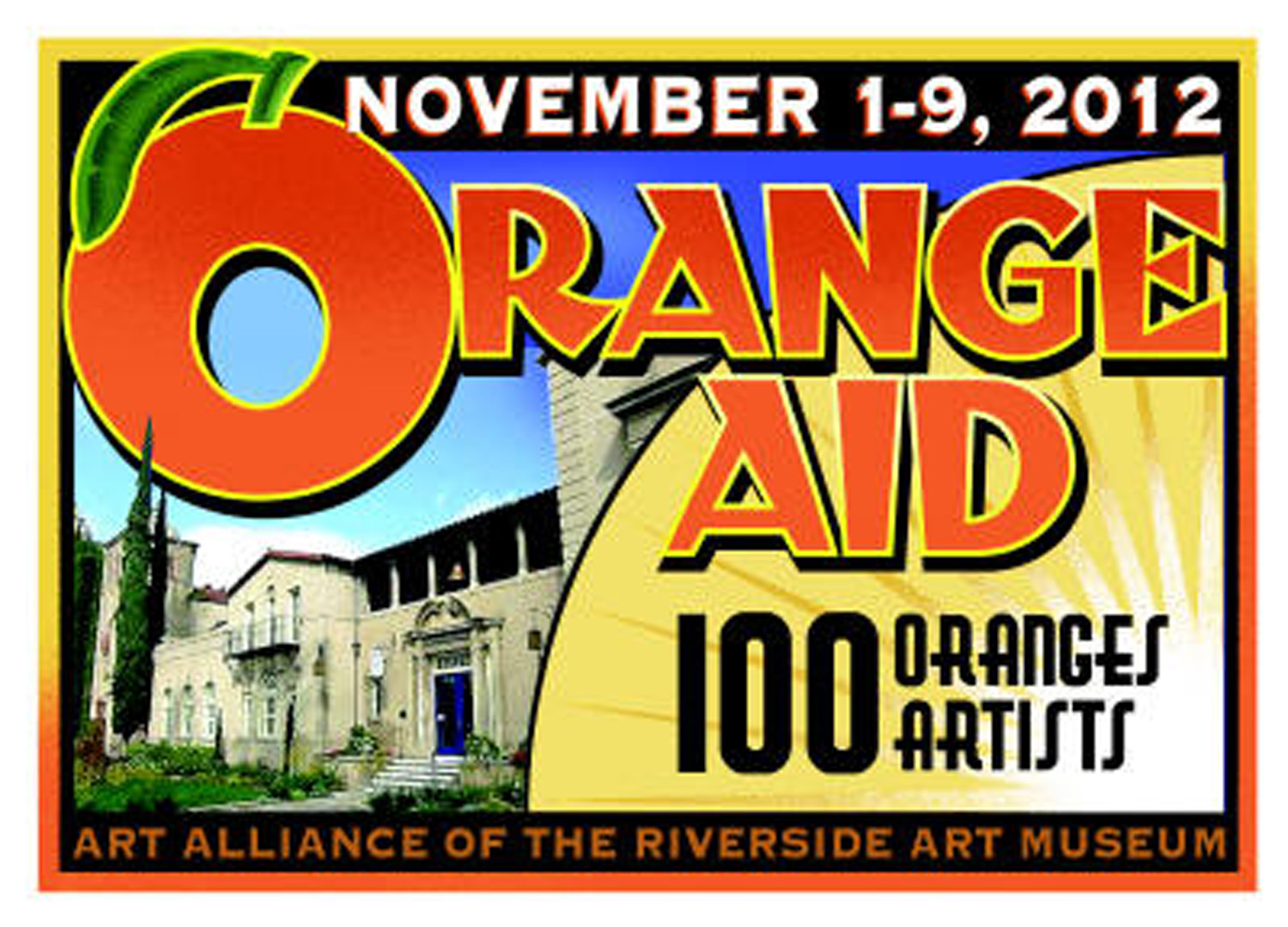 Oranges for Riverside -- a worthy cause and a fun project to work on!