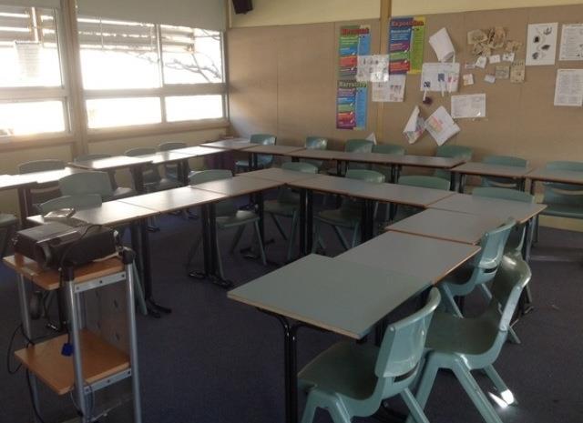 Classroom pre-makeover!