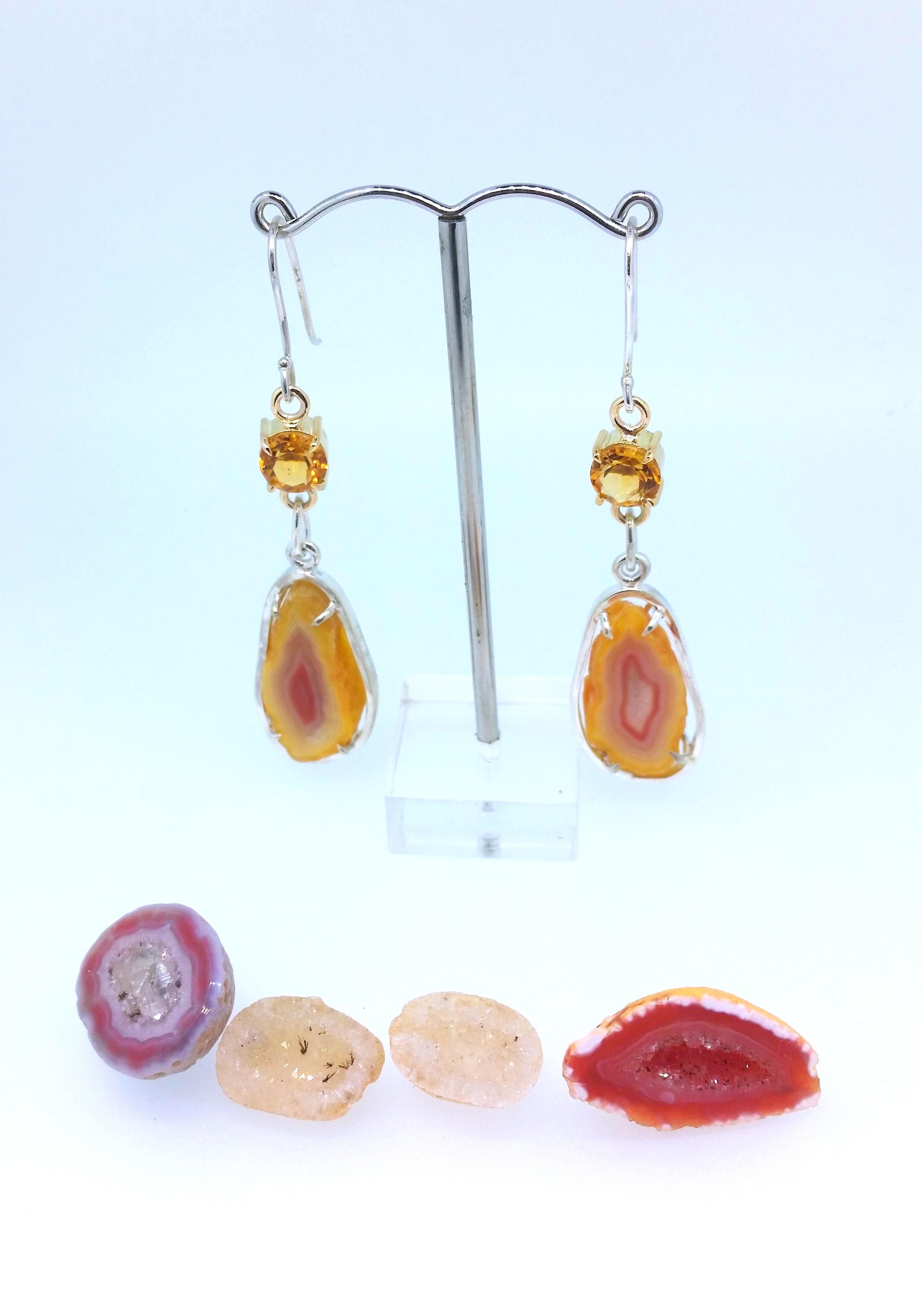 Citrine and Agate Earrings 4.jpg