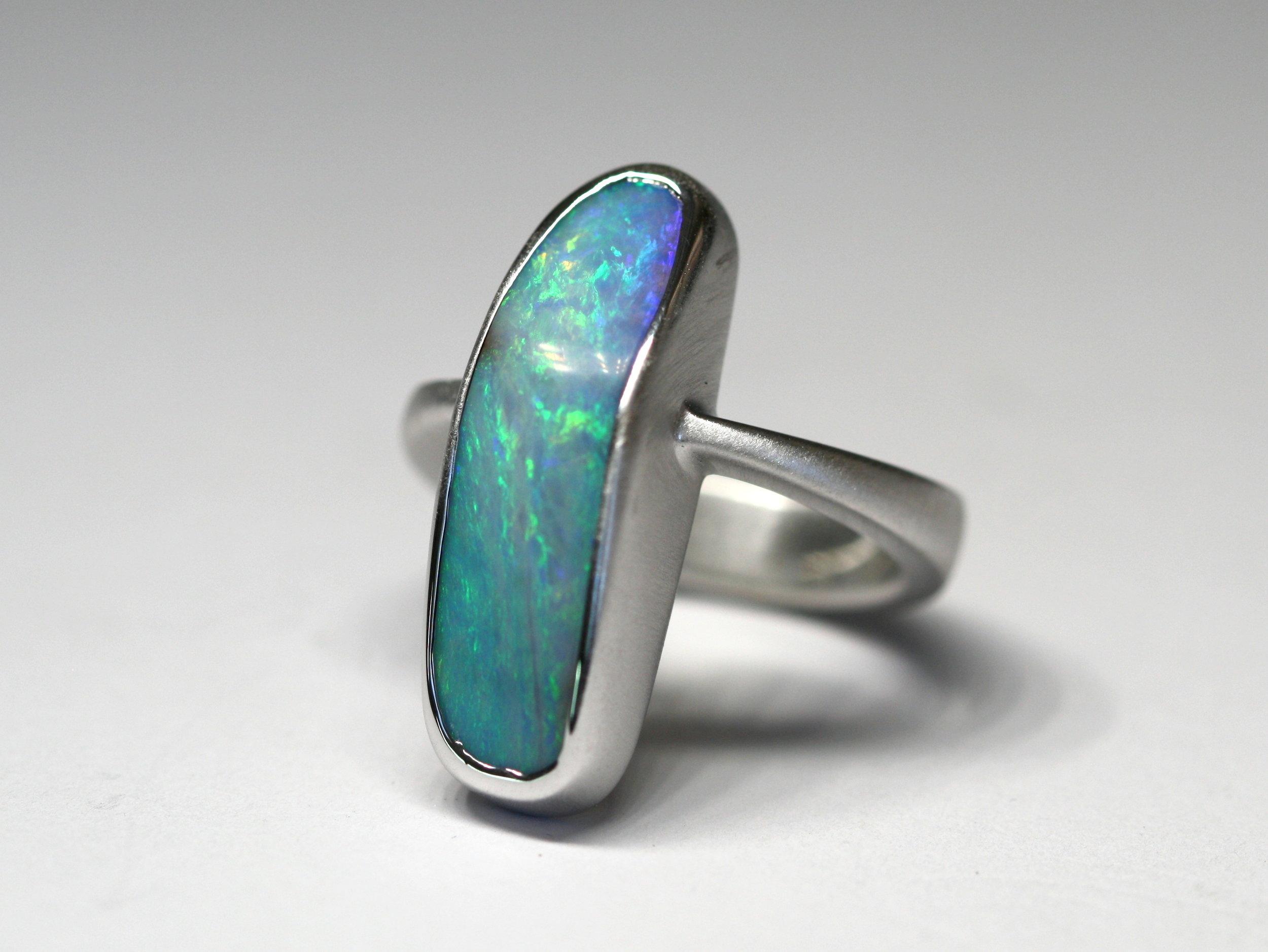 Blue Boulder Opal Silver Ring1.jpg