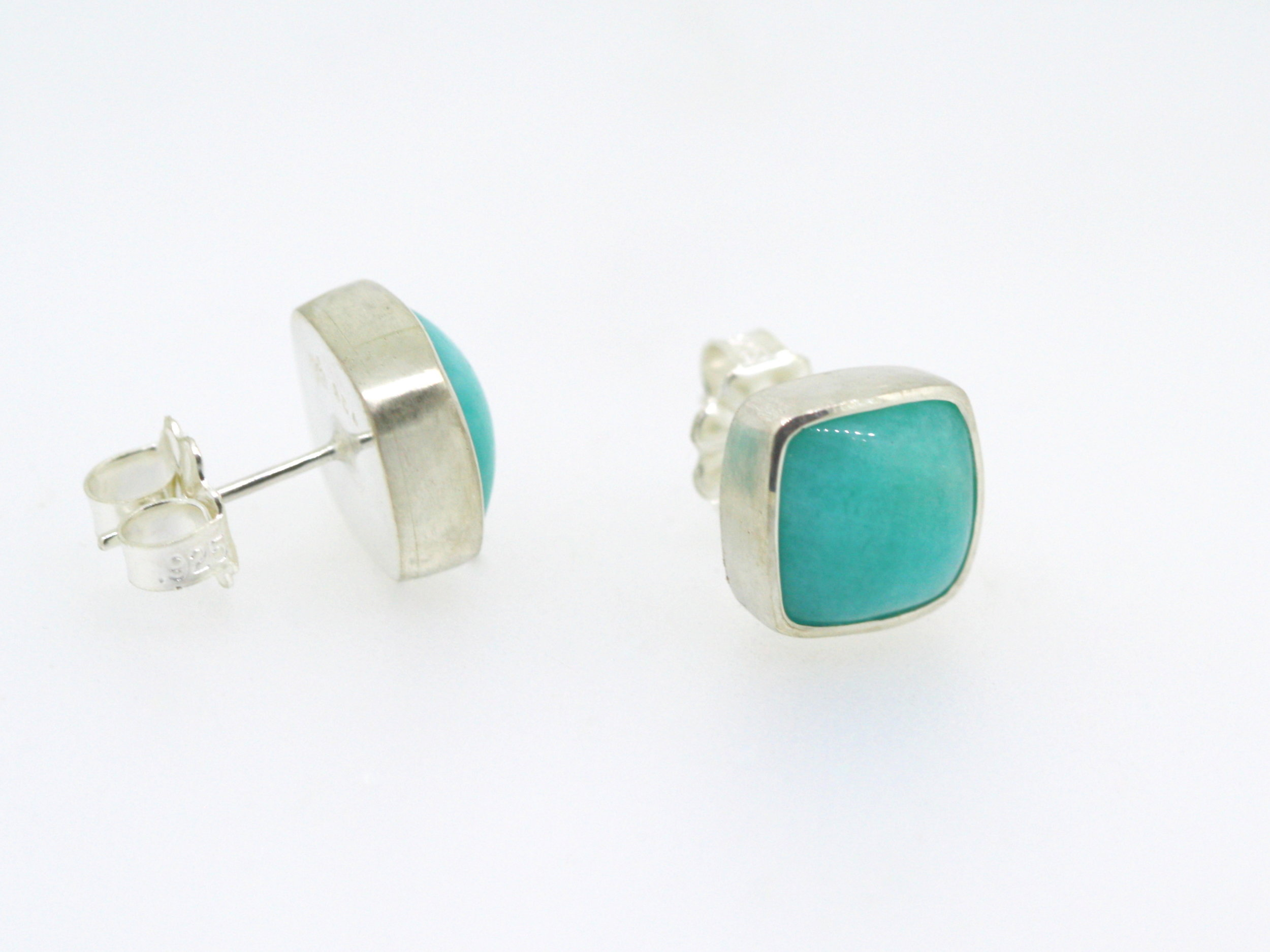 Amazonite and silver earring (10).JPG