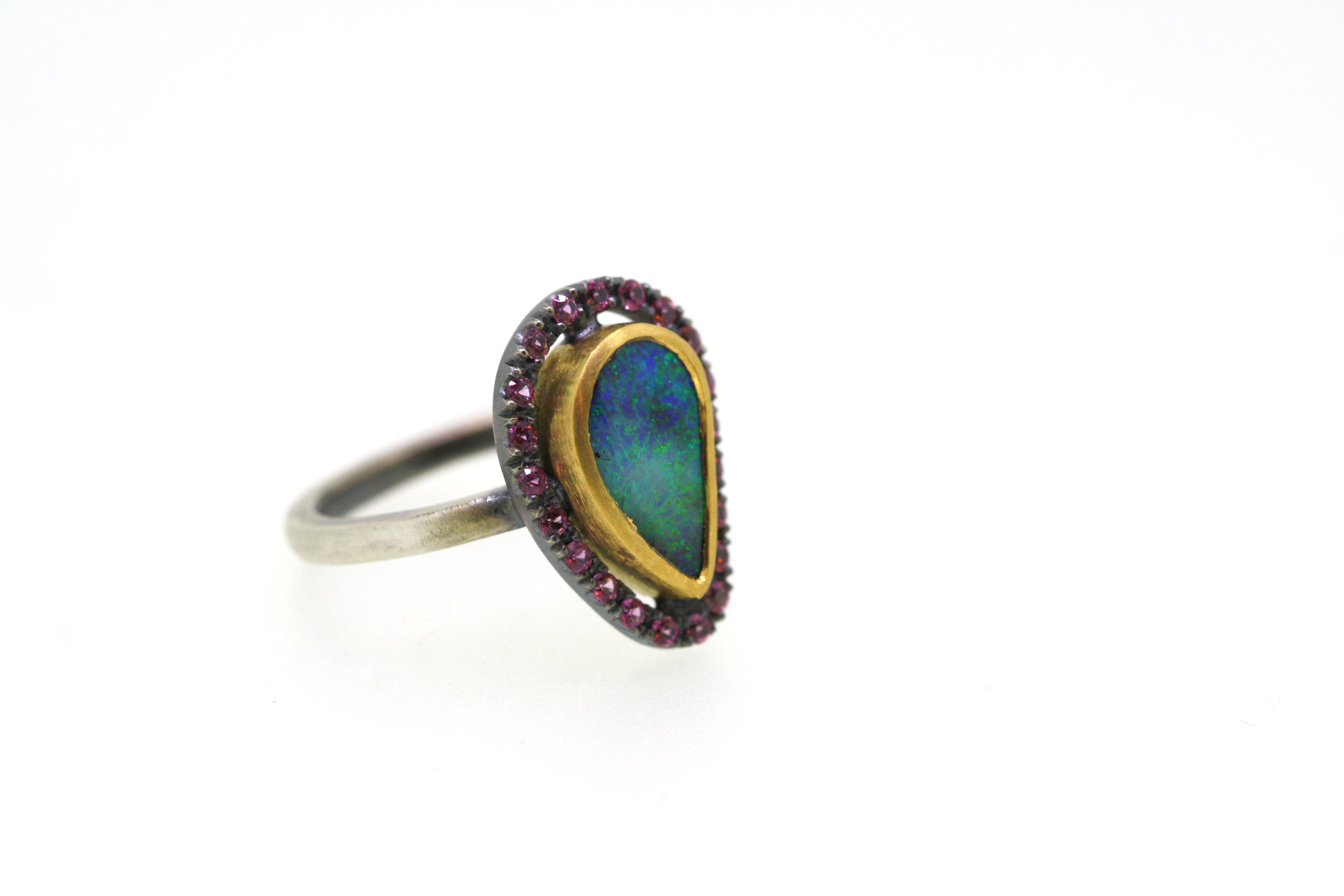 Journey QLD Boulder Opal Garnet Diamond (46).JPG
