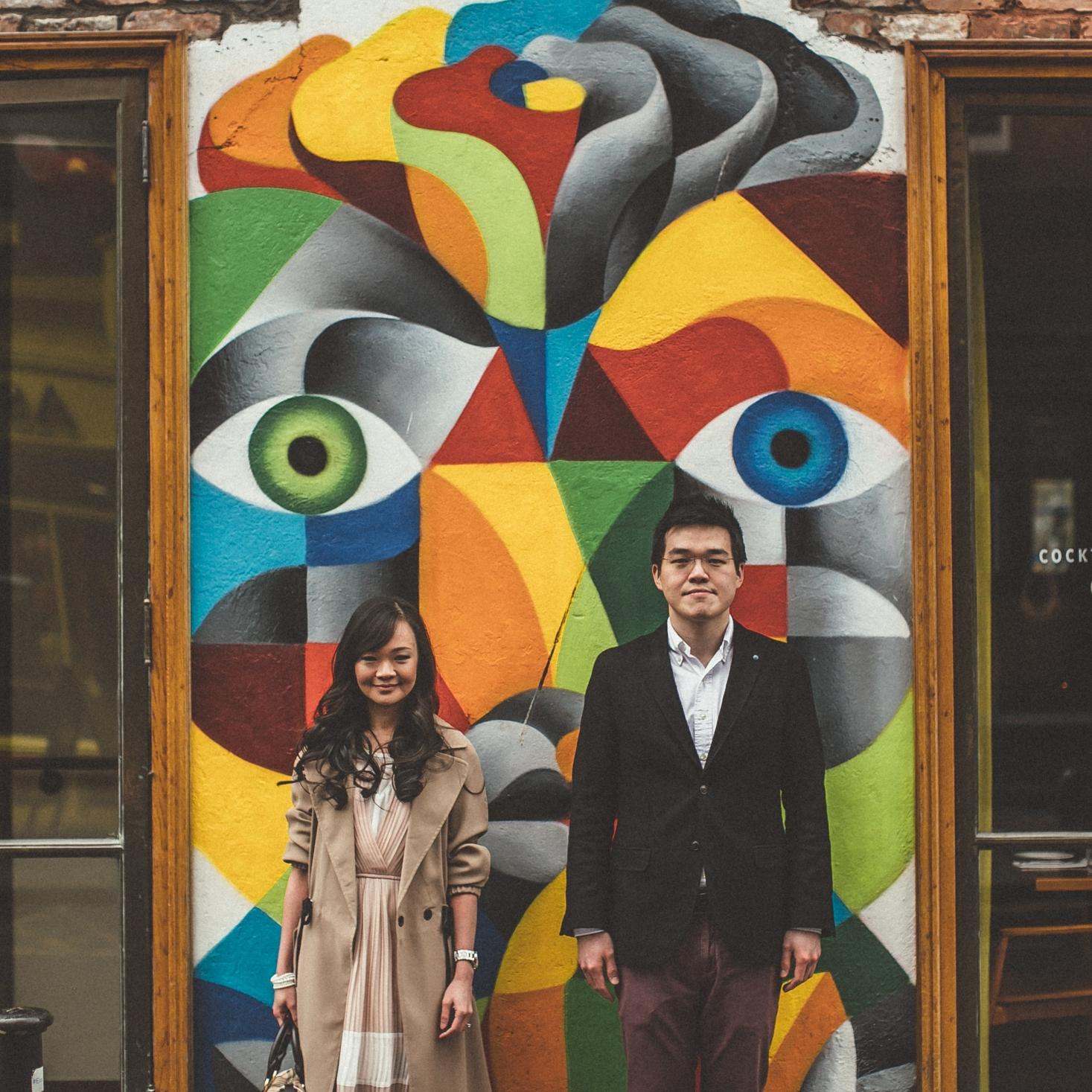 Syer Ree + Calvin Dublin City Couple Shoot