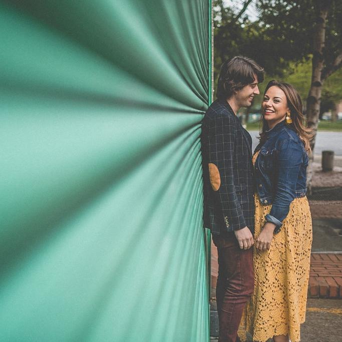 Sinead + David's Dublin City Couple Shoot