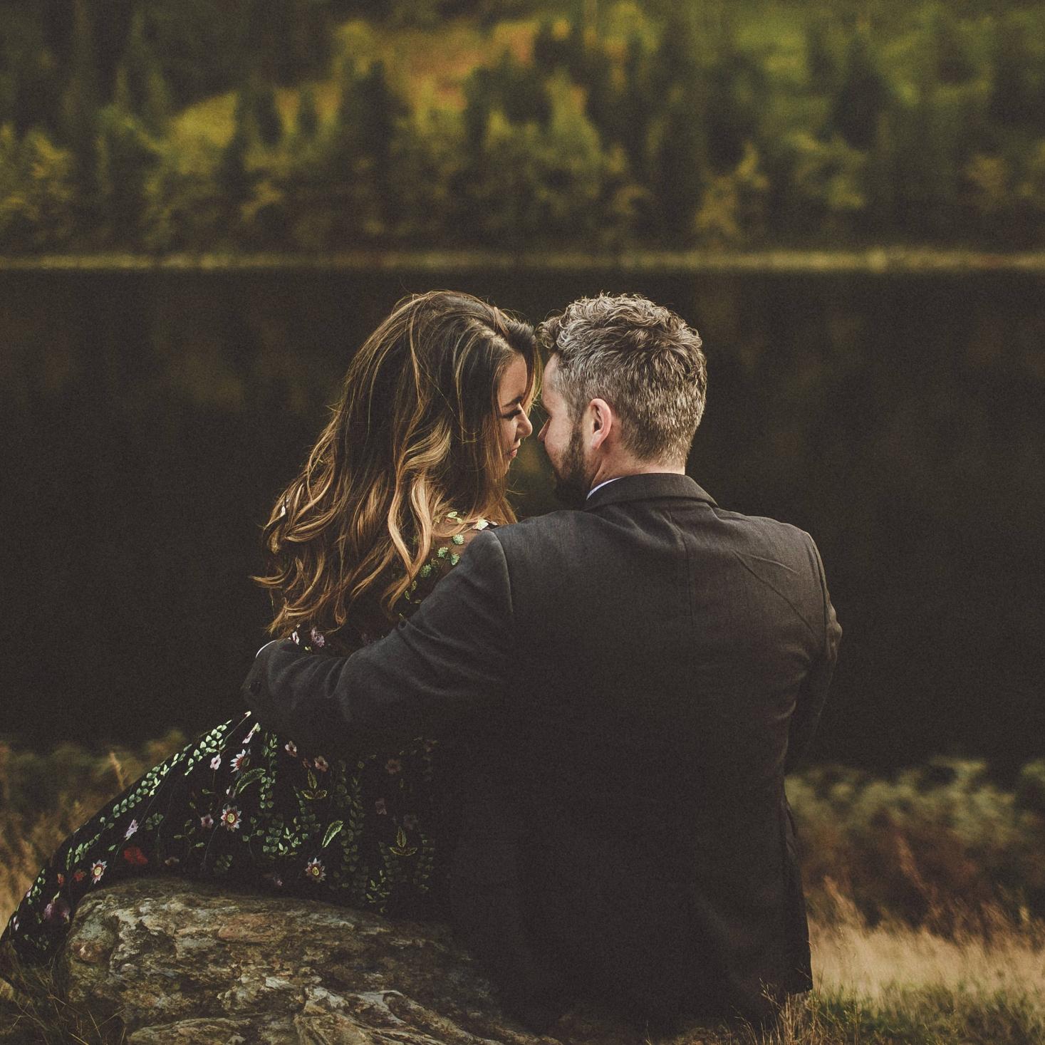 Athena + Blaine // Glendalough Couple Shoot