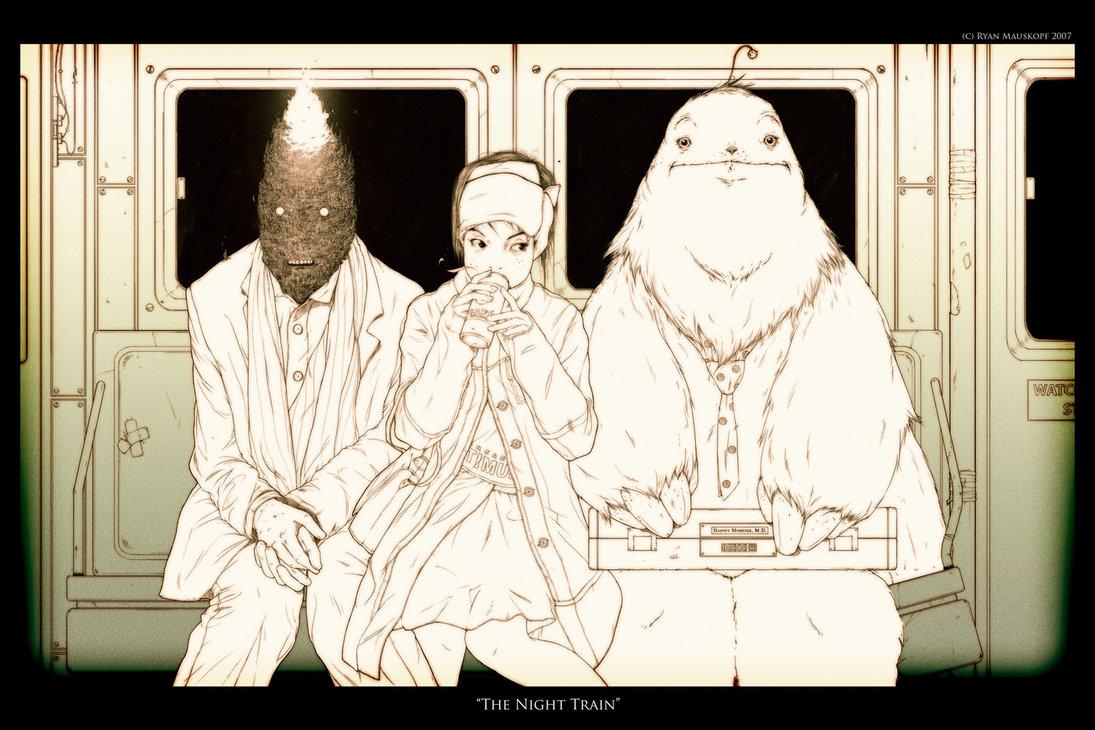 The Night Train by Ryan Mauskopf