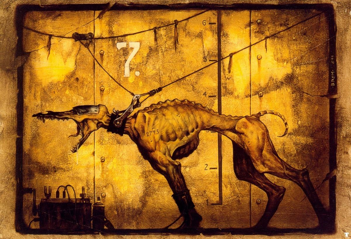 Dog by Brom