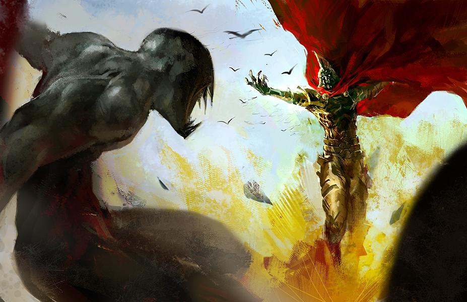 Fight  by Tobias Kwan