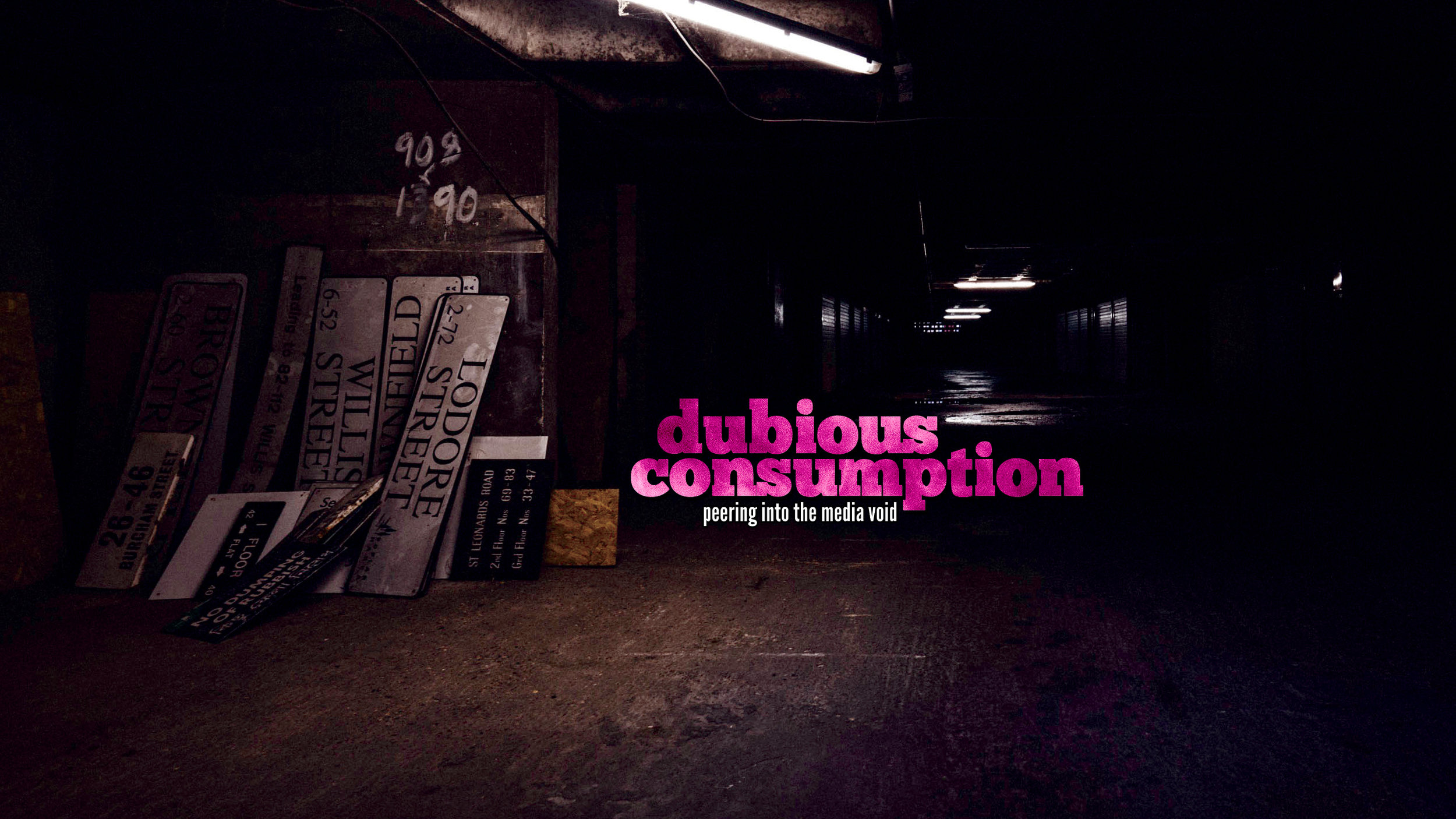"Dubious Consumption - Our Youtube channel, where we delve into topics that fascinate us. We live by the motto:""More interesting than good."""