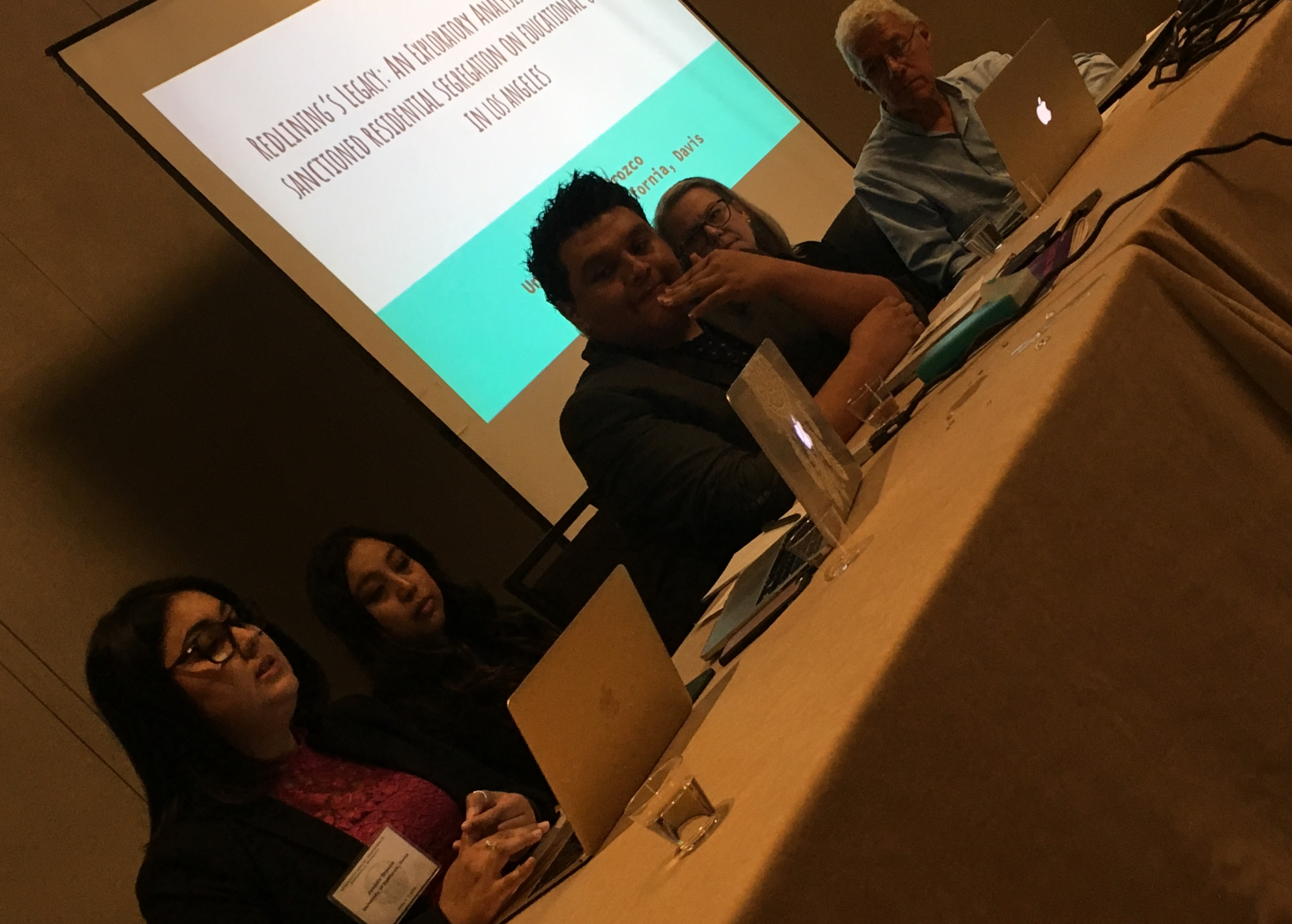 Jessica Orozco presenting at NACCS (National Association for Chicana and Chicano Studies) Conference in Bloomington, MN.