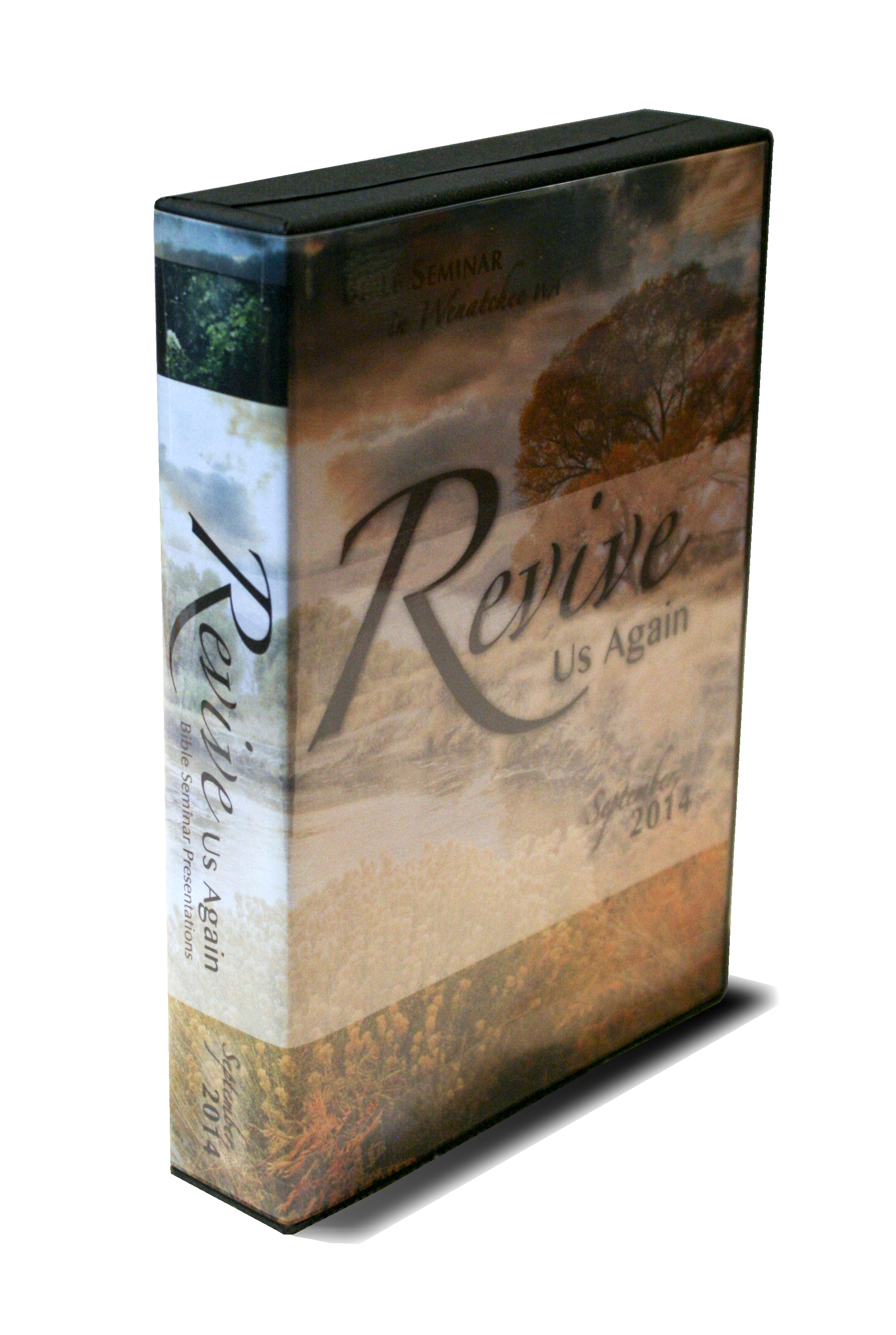 This DVD case contains the 10 discs of the Bible Seminar