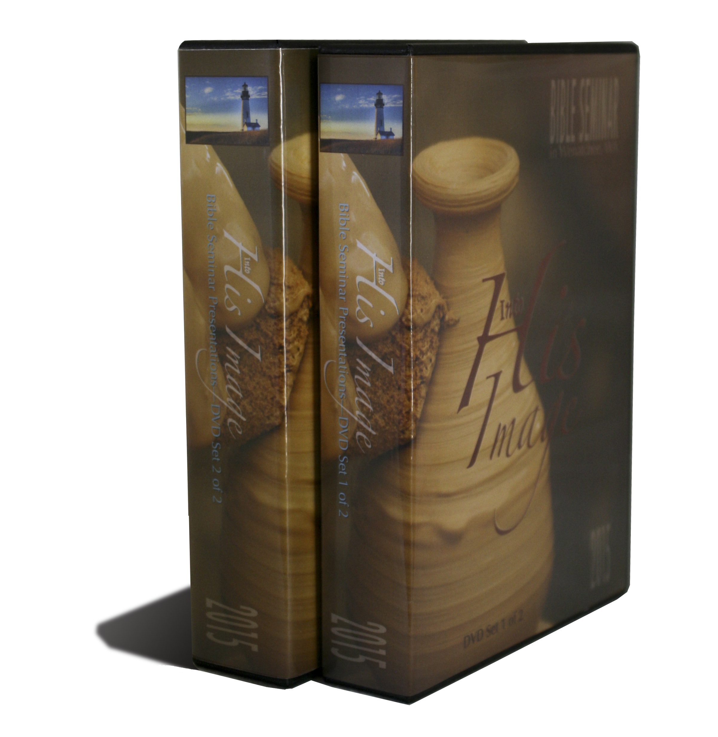 2 DVD cases contain the 22 disc-presentations