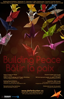 Building Peace  runs from Sept 14, 2013 to Jan 31, 2014