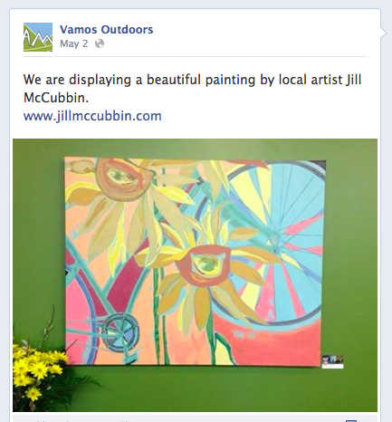 As seen on Vamos Facebook page and at Vamos Outdoors, Almonte, Ontario