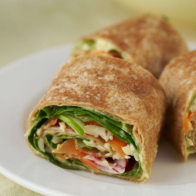 "Day 12 of our Taste of Spring Recipes! It's time to ""wrap it up"" and share our final recipe with you all! Try our Veggie Wraps recipe! Find more recipes like this and more at ▶️cookingmatters.org◀️ #southmemphis #southmemphisfarmersmarket #healthyfood #healthyfamily #food #memphis #cookingmatters #cookingmattersnational"