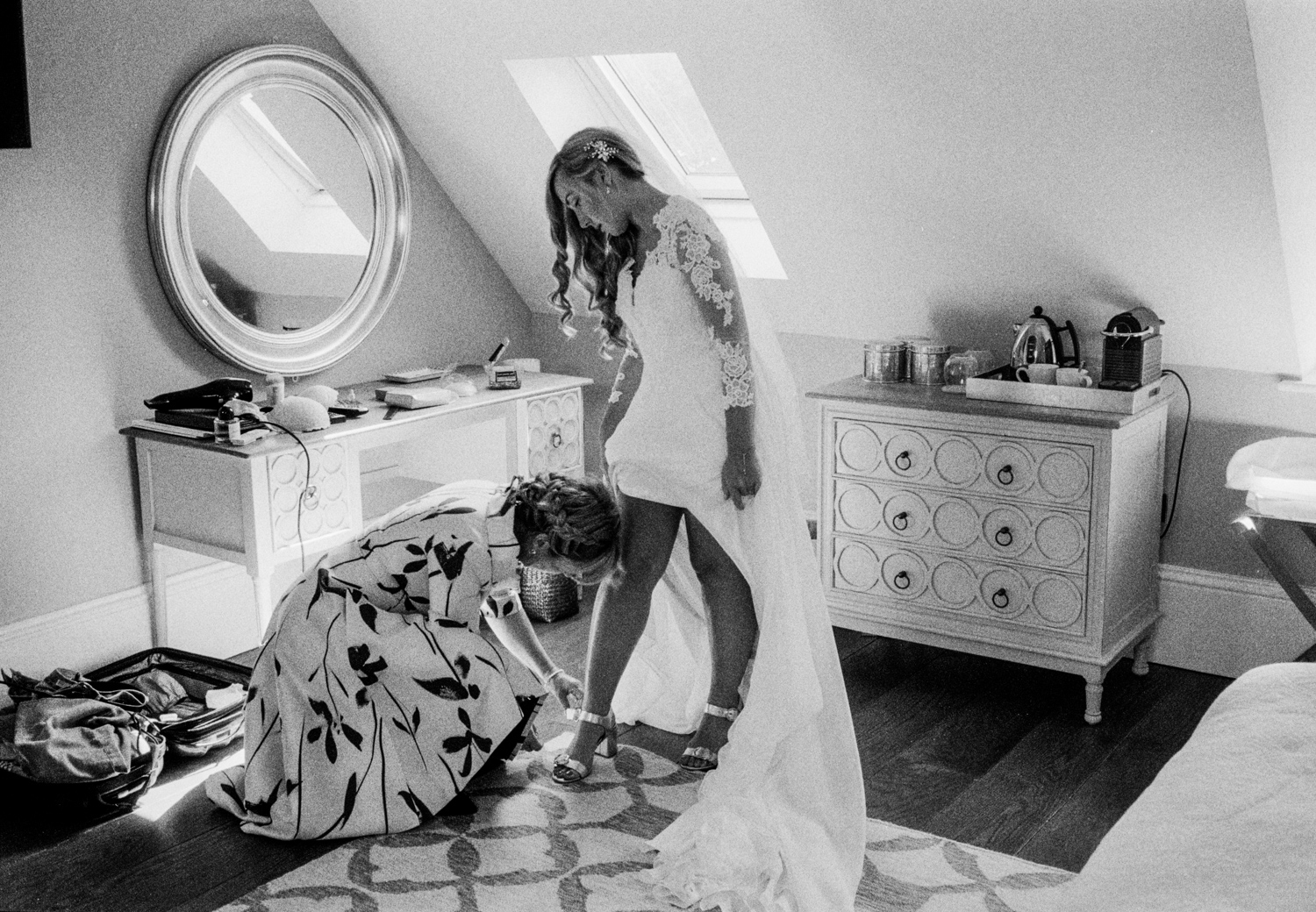 Wedding photography with Ilford Delta 3200