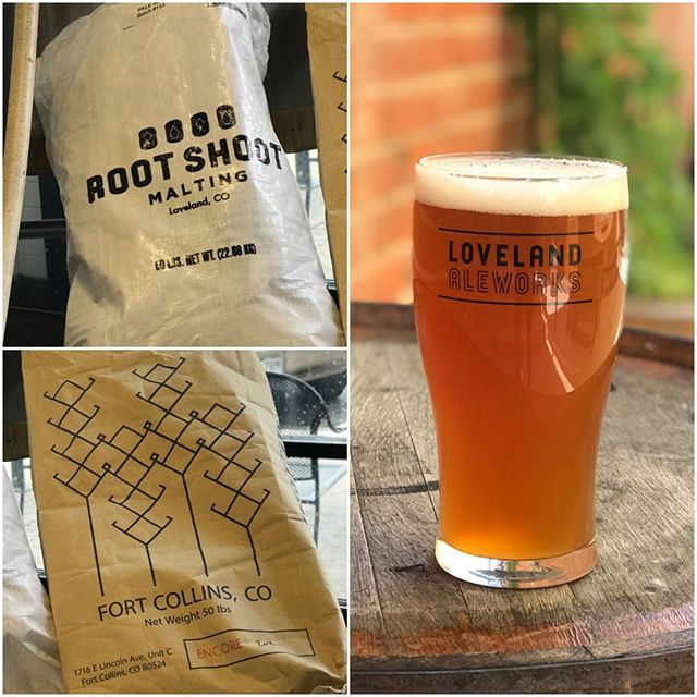 McCalisters is back tomorrow. This beer is brewed with all local malts: Encore from Troubadour Maltings and Metcalfe from Root Shoot Malting . This newest brew tweaks the recipe to more closely emulate the original medal-winning beer recipe.  #lovelandaleworks #lovelandbeer #brewedwithlove #iamdrinkingaletoday #doyourootshoot  #knowyourmaltster #colorfulcoloradomalts #beerisagriculture #visitnortherncolorado #visitloveland #visitfortcollins