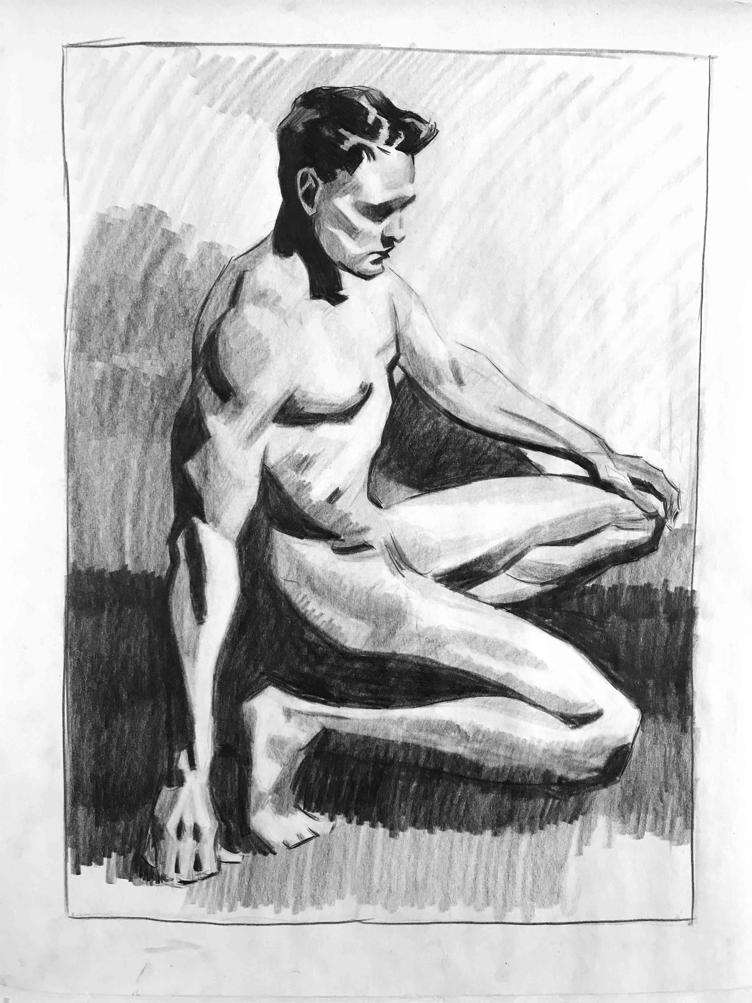 3 hrs mastercopy, after Andrew Loomis