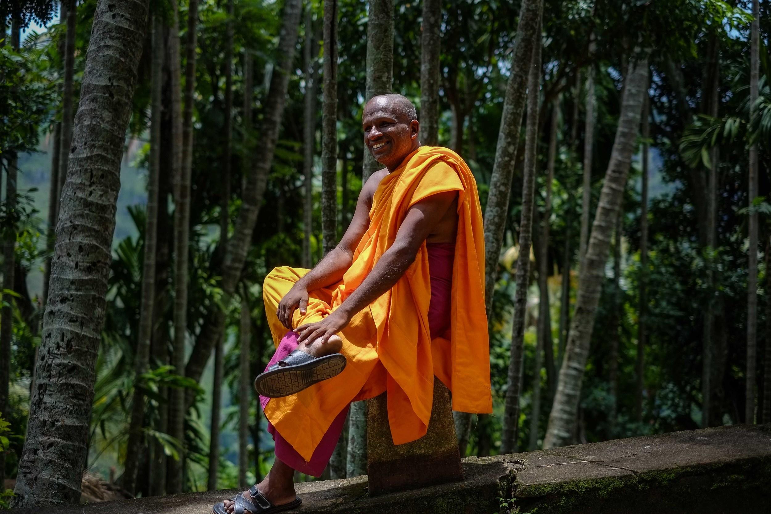 Obligatory monk photo.
