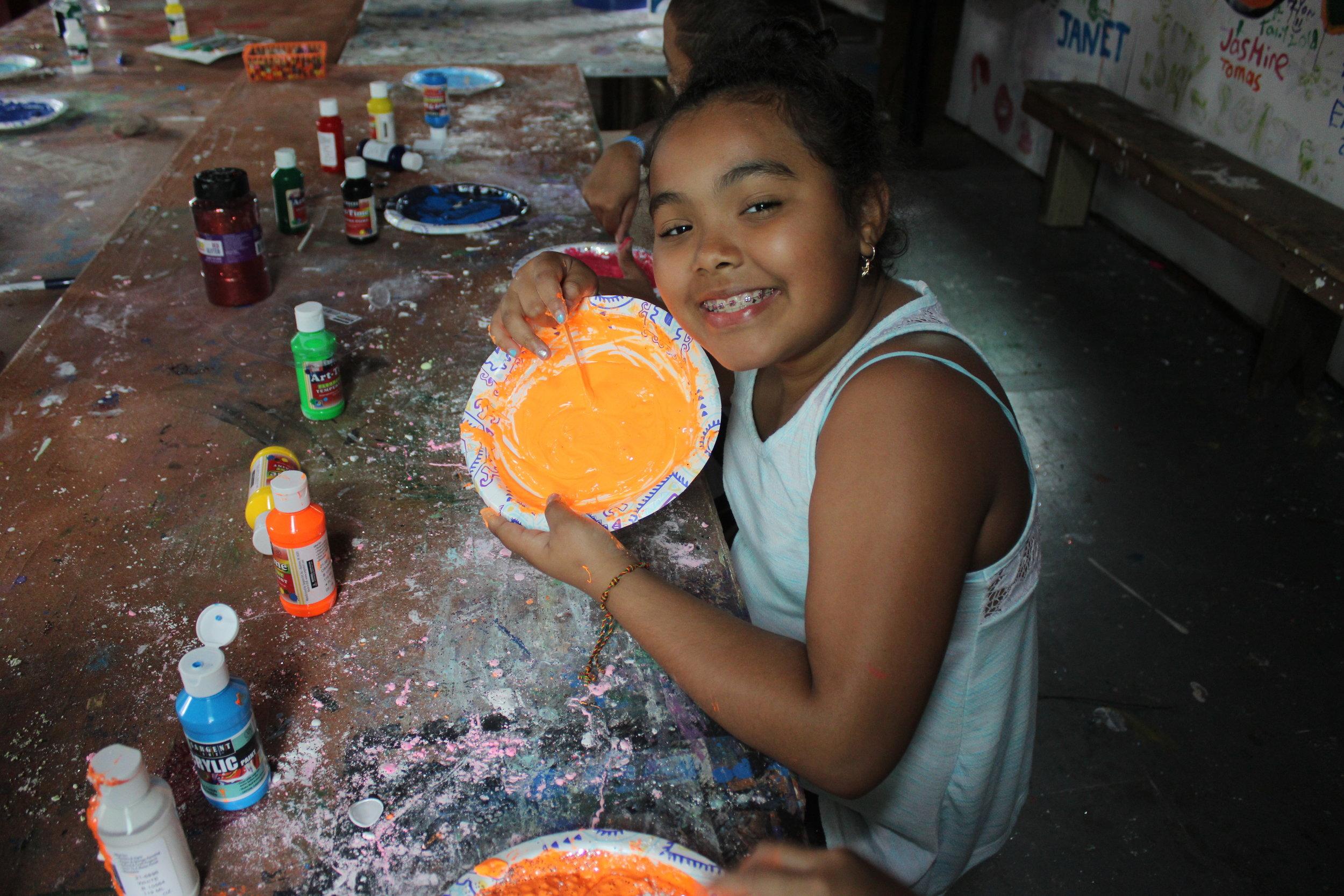 arts crafts girl orange.jpeg