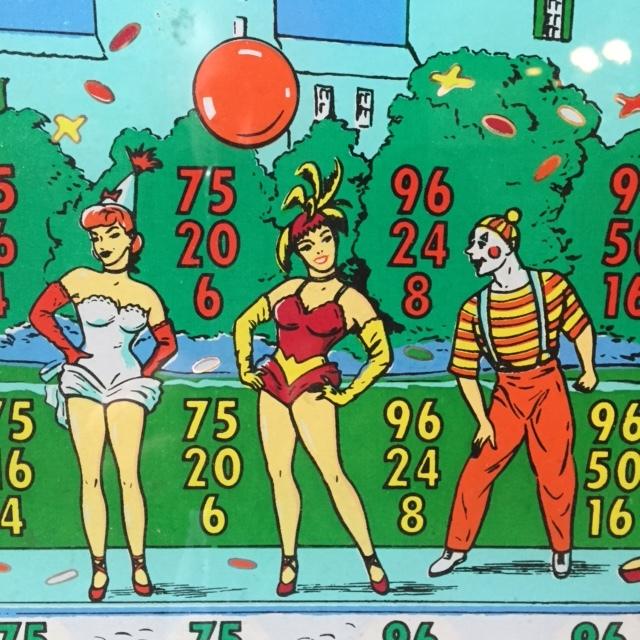 1958 Carnival Queen Detail