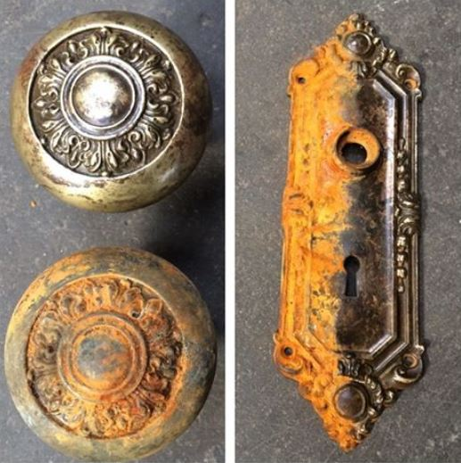 Clean-Rust-door-hardware
