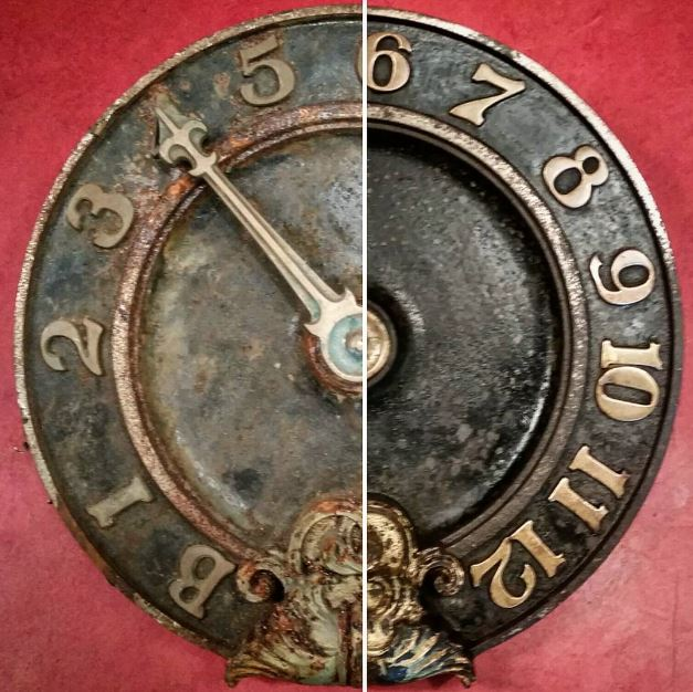 Antique Elevator Dial