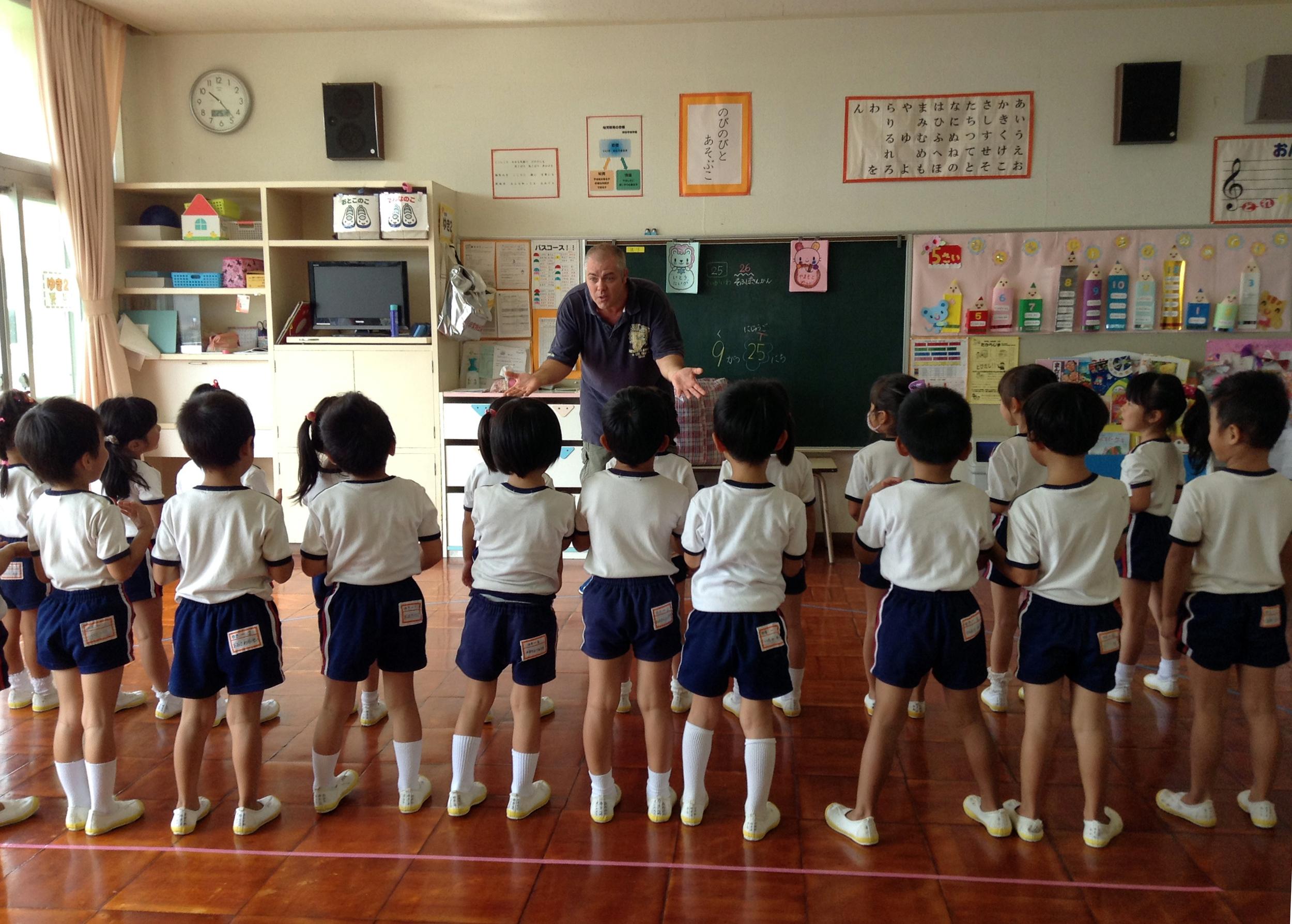 Teaching in kindergartens
