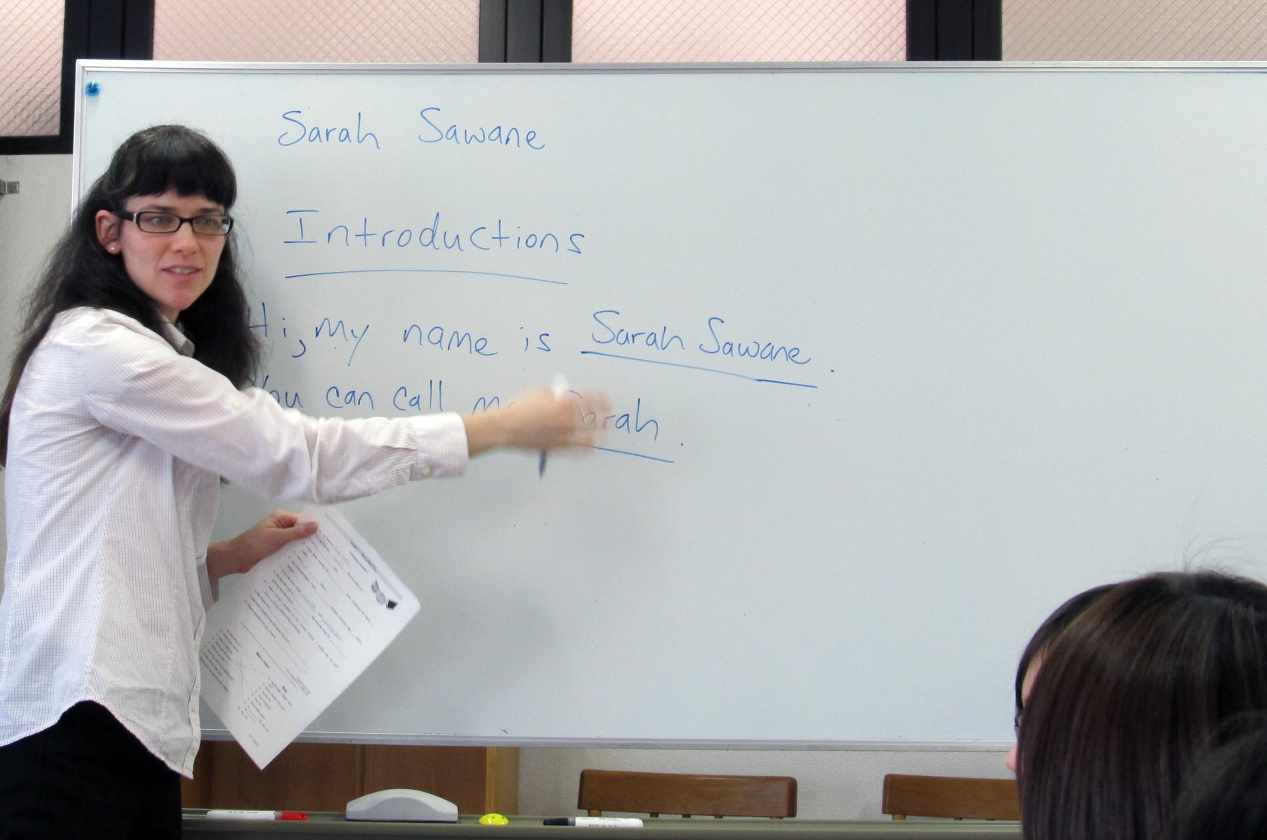 Adult Language Education