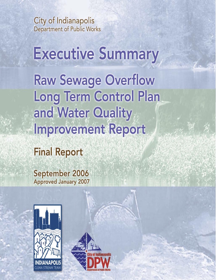 Raw Sewage Overflow Long Term Control Plan and Water Quality Improvement Report