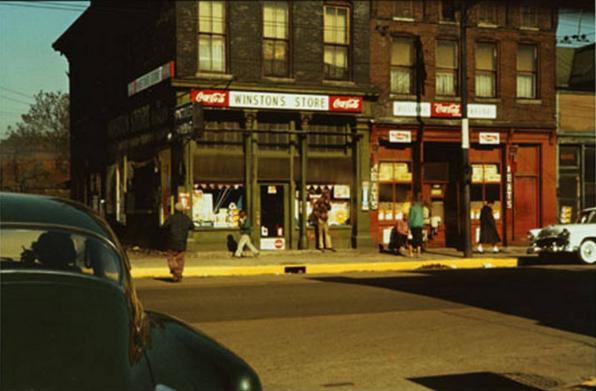Winston's Store, 1956