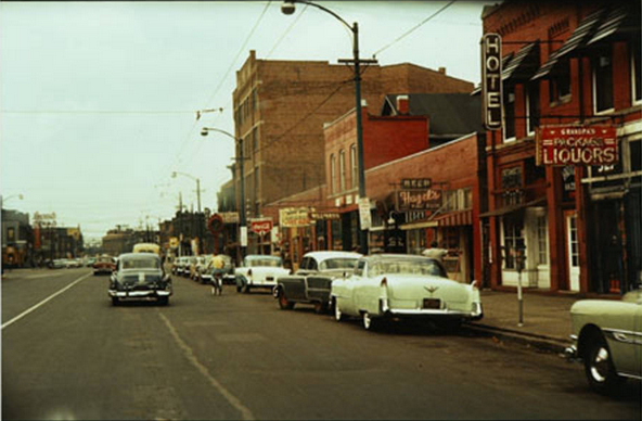 300 Block of Indiana Ave., 1956