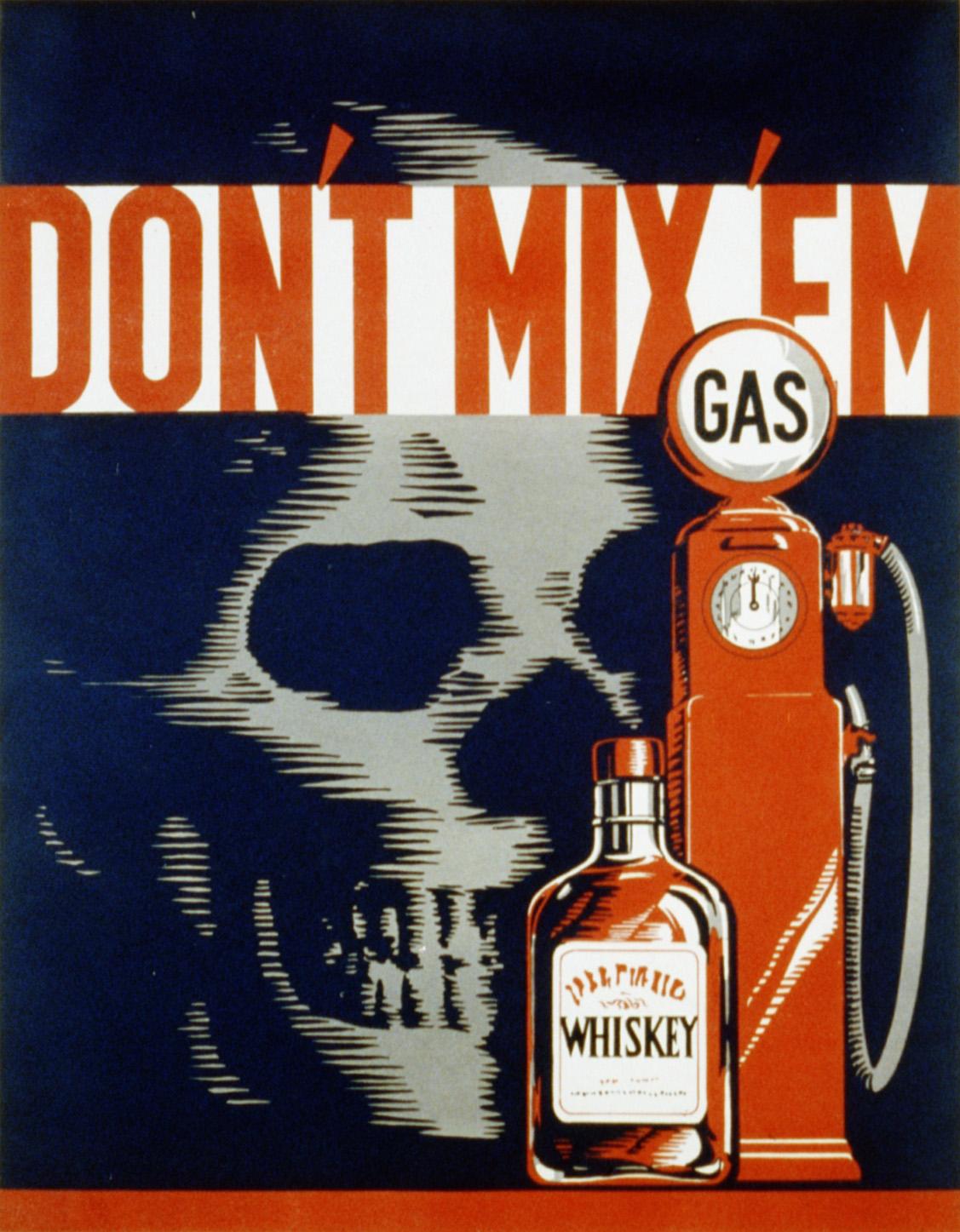 """Don't mix 'em"""