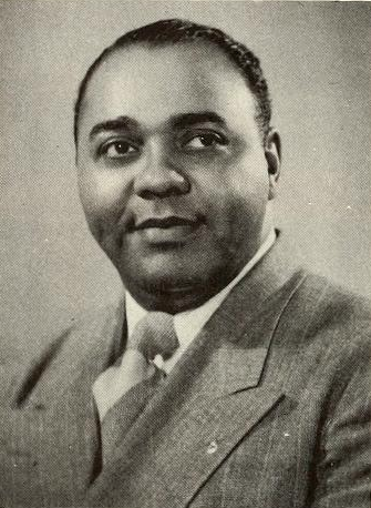 William D. Mackey. Photo credit: America's Tenth Man: A Pictorial Review of One-Tenth of a Nation (1957).
