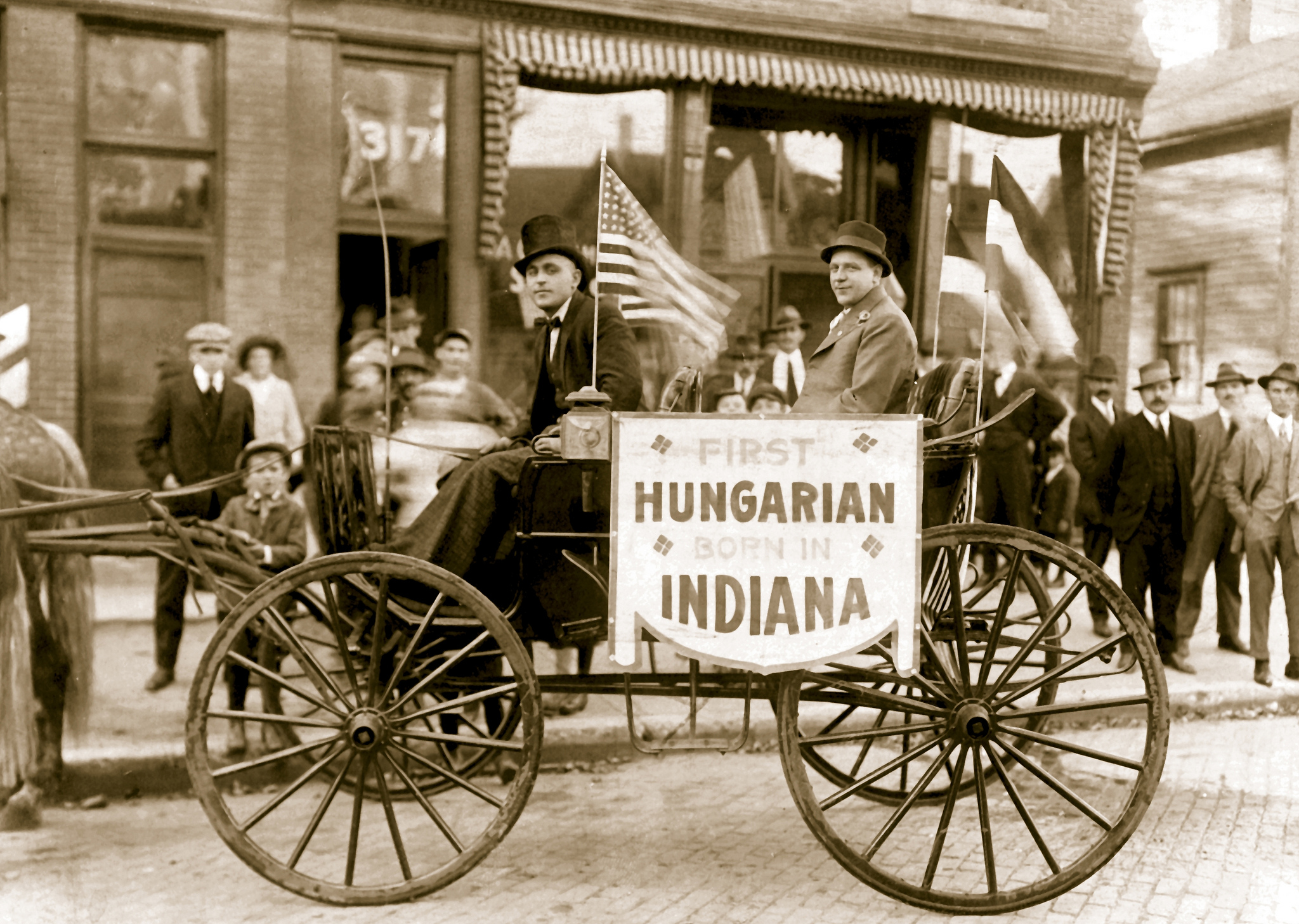 Photo of Ernest 'Hank' Kovach, the first Hungarian born in Indiana (1909). Image via South Bend Tribune.