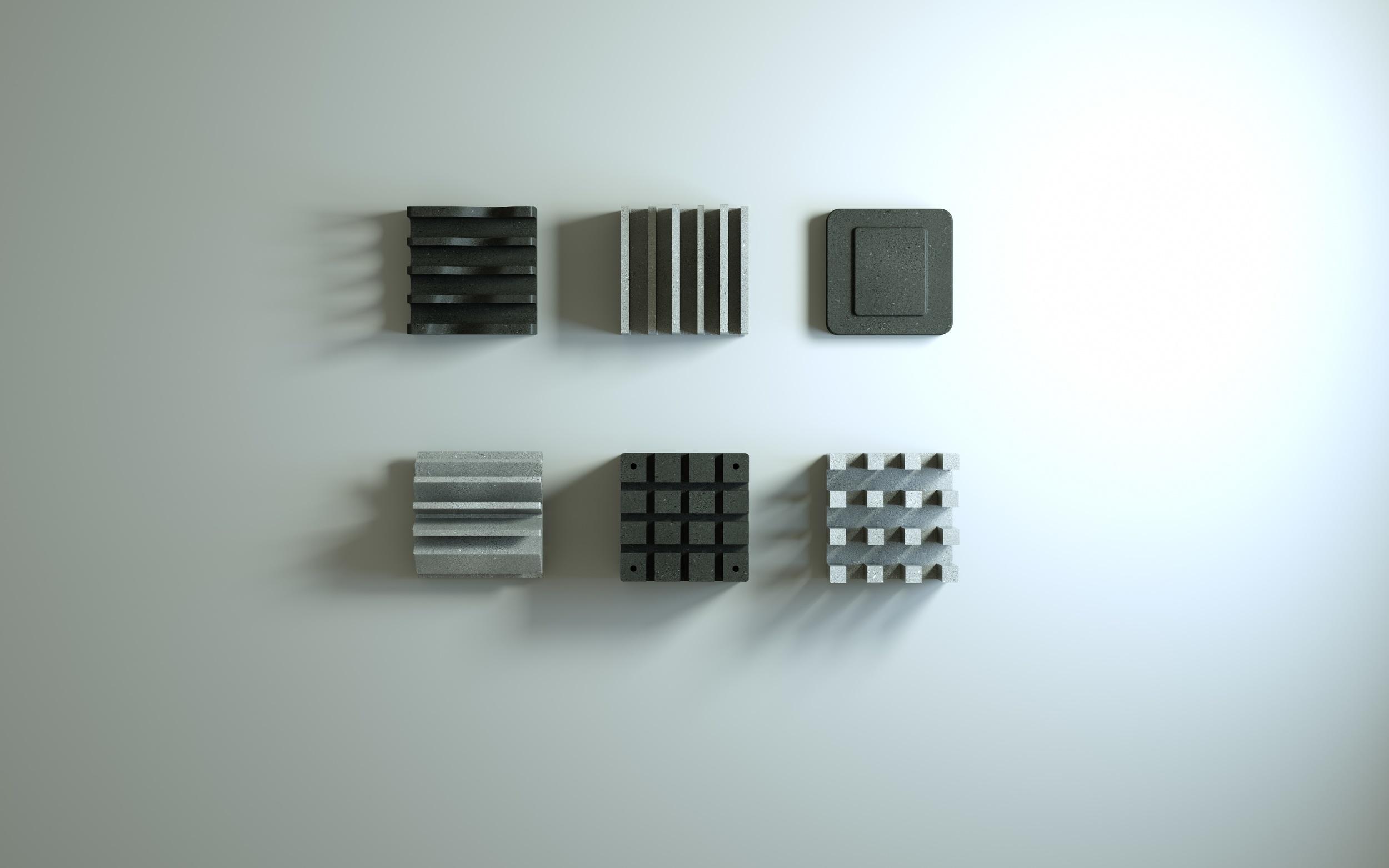 Circuito_DeskAccess._6 Pieces