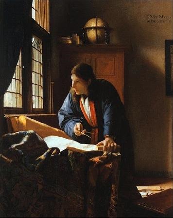 Johannes Vermeer -Il Geografo, 1668.