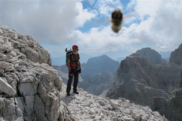 """Immagine di Ernesto Gefonti, per tutti """"Geffo"""", AM Instruments (egefonti[at]aminstruments.com). Scattata con una Canon G12 sulle Dolomiti di Brenta il 9 settembre 2012."""