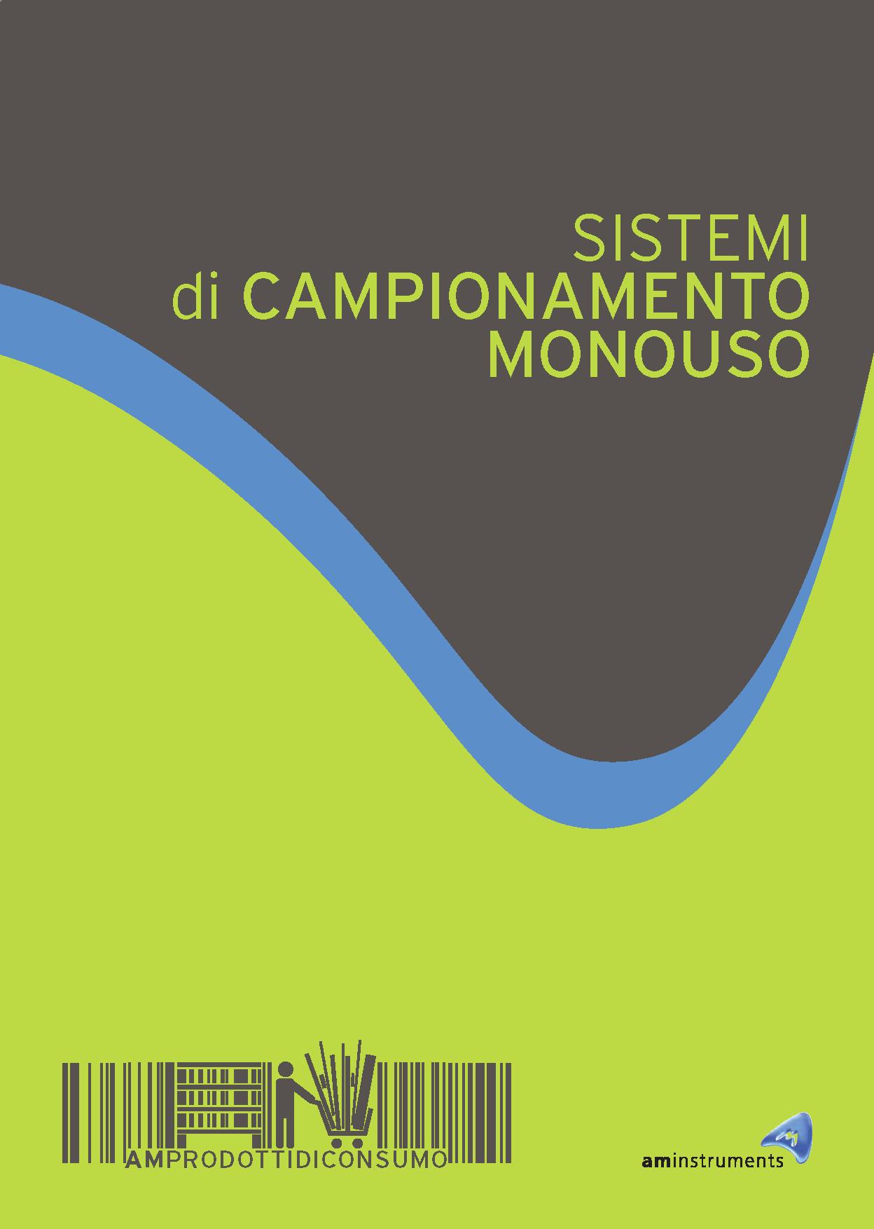 Fai clic sull'immagine per scaricare il catalogo dei campionatori monouso in formato PDF