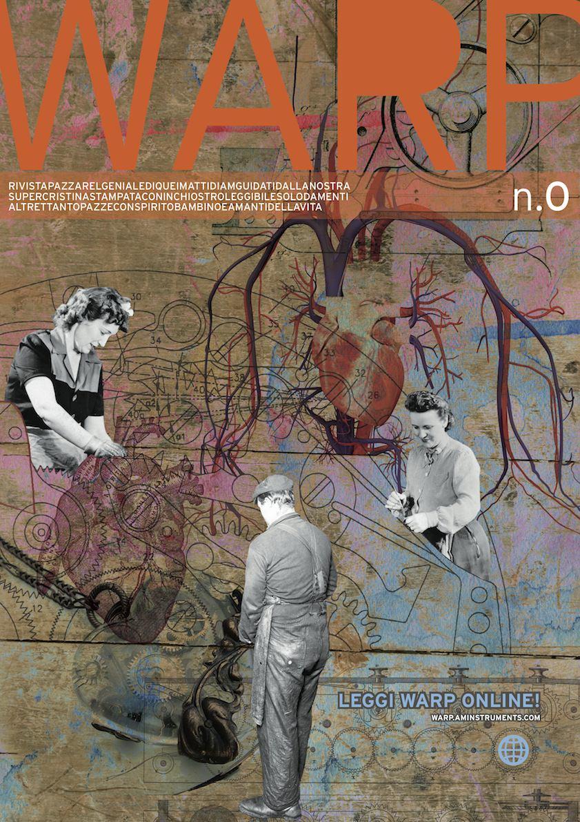 Questo mese WARP è di carta! Richiedila compilando il modulo in basso nella pagina.