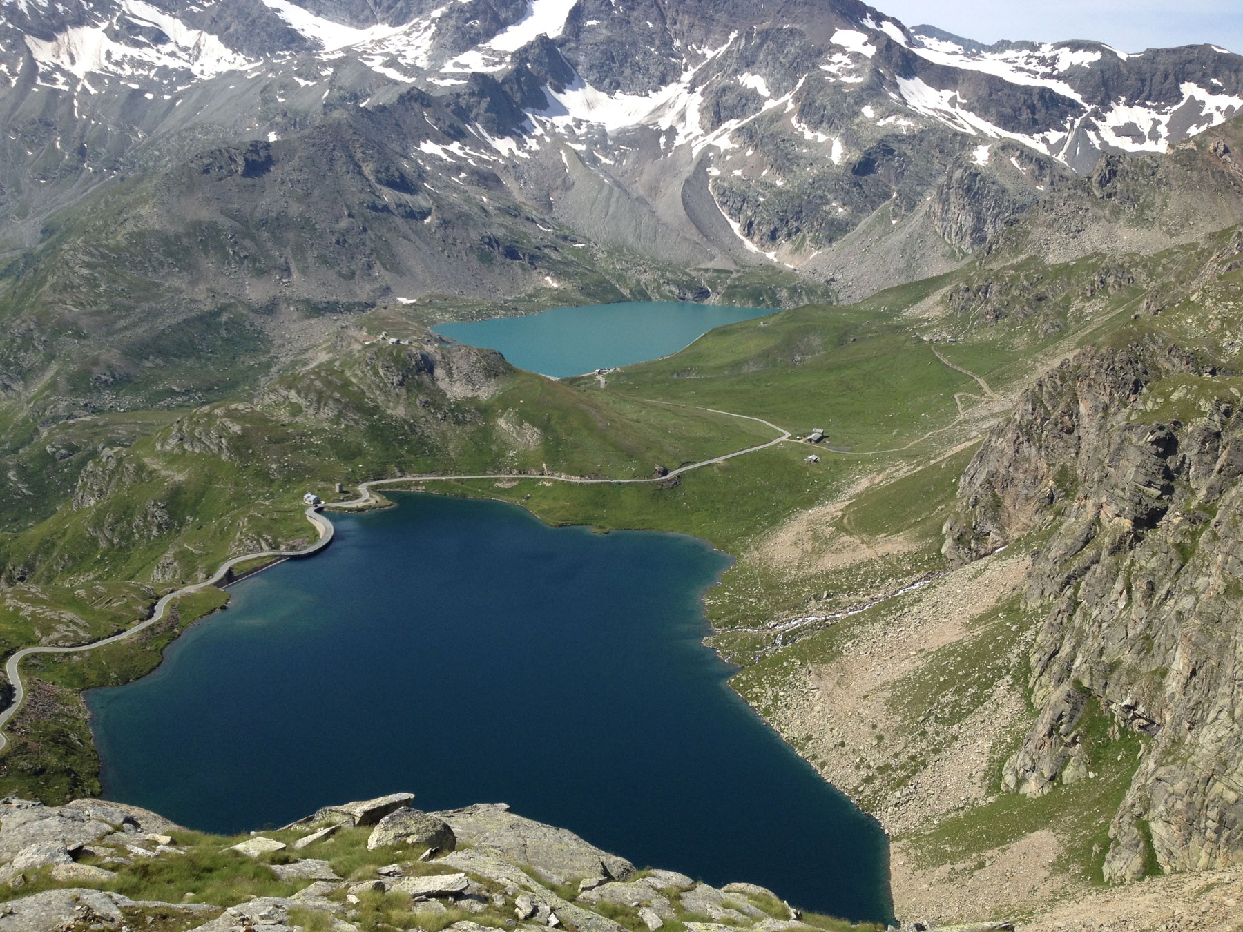 """Lago Serrù Valle dell'Orco"" - iPhone 4s - immagine di DJ Tommy (tcassano[at]aminstruments.com)"