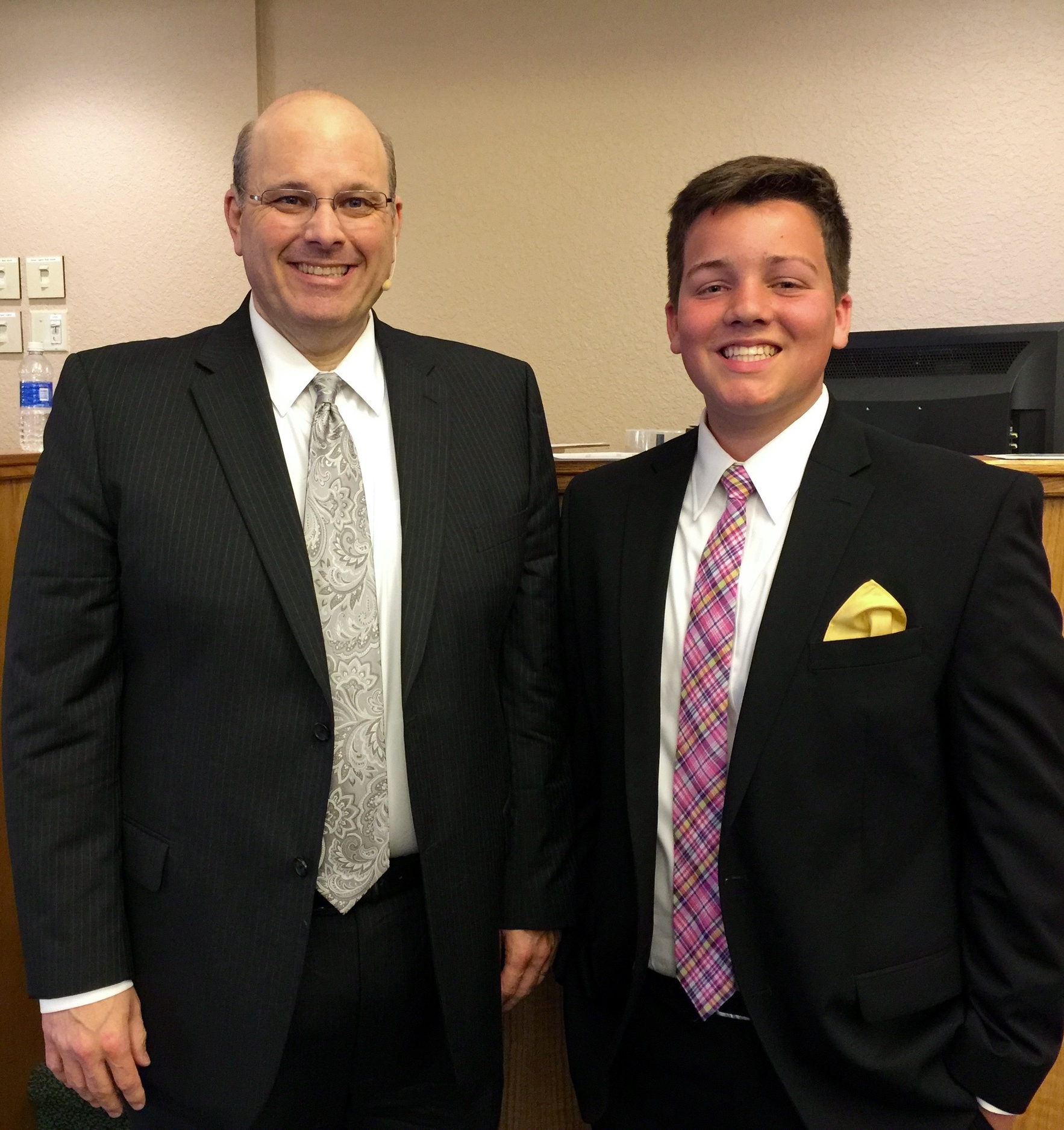 I love Preacher's kids. This Caleb Wiley. He is the Son of Pastor Jason and Angie Wiley of Palm Harbor, FL.