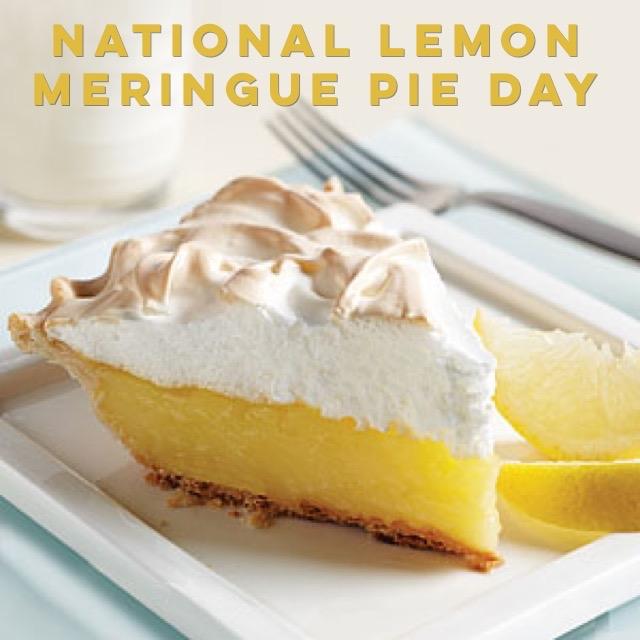 It's National Lemon Meringue Pie Day🍴✅ Where's the best?
