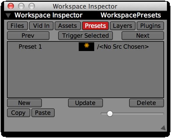 One preset added.