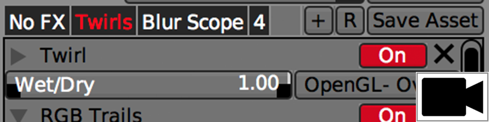 SECTION PRESETS    Changing localized parameters on FX-chains and individual UI items using local presets.