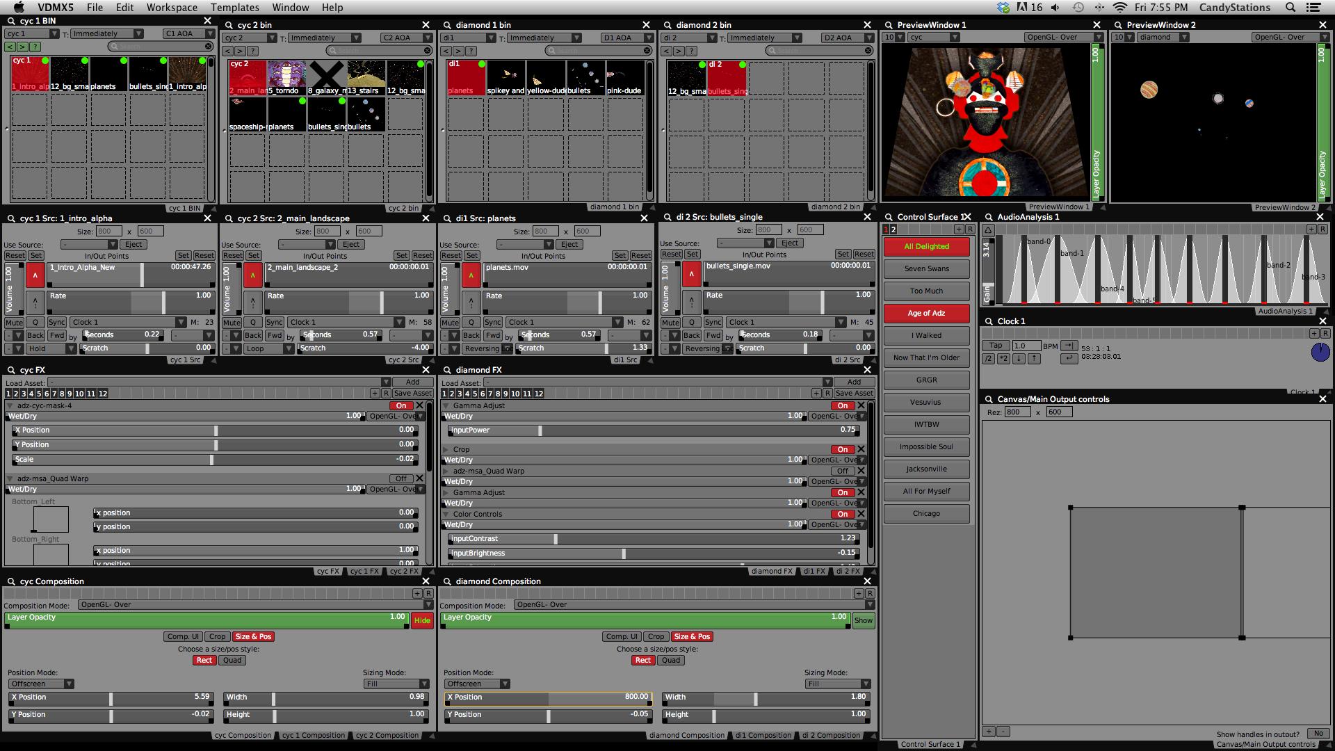 Age of Adz: VDMX Project Screenshot