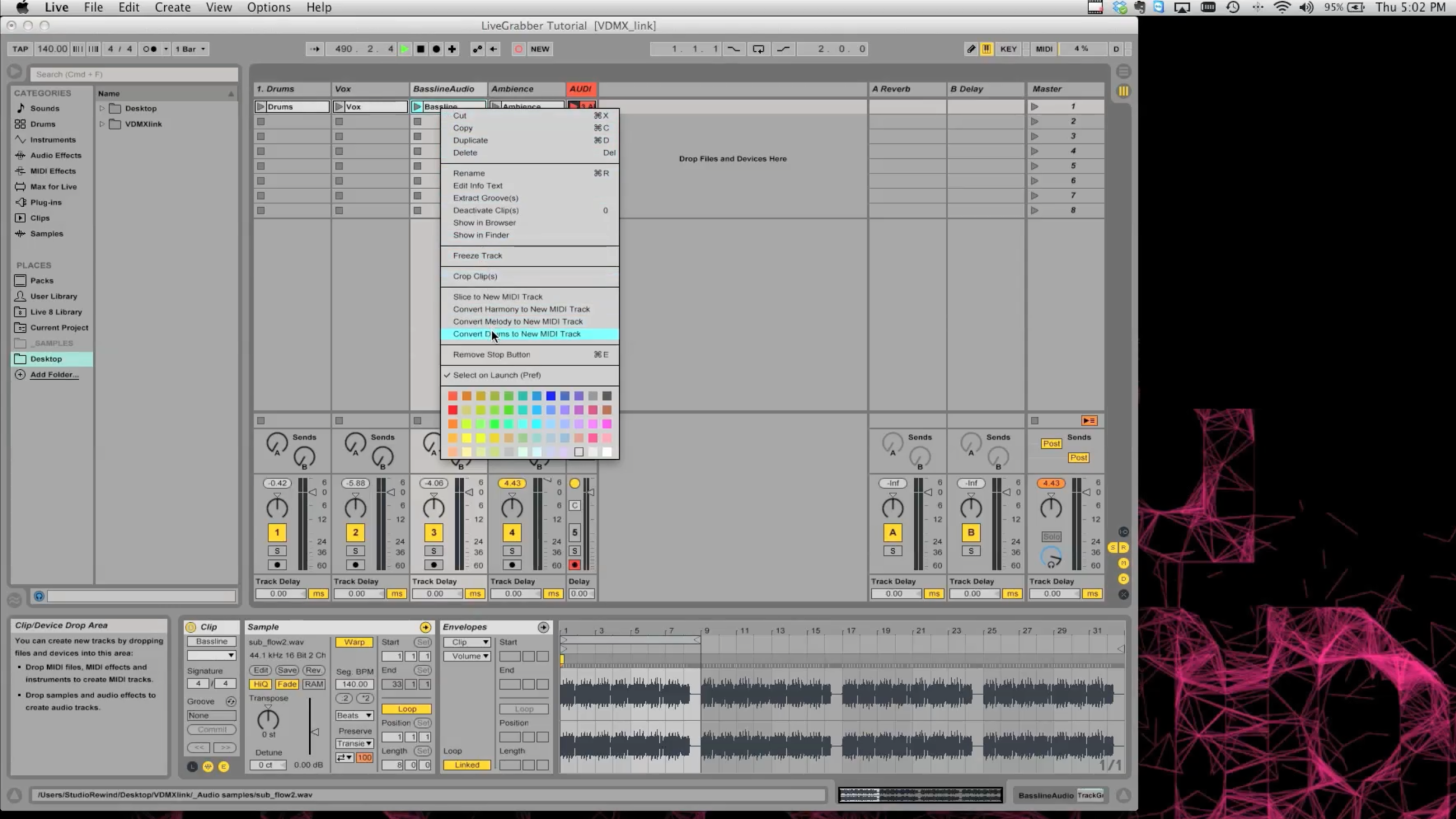 Guest Tutorial: 4 ways to sync VDMX and Ableton Live with