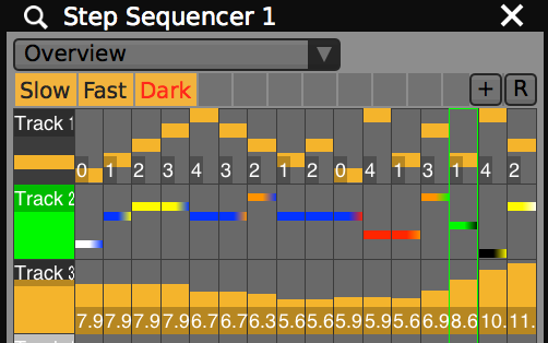"""Use """" Section Presets """" to save and restore patterns in the Step Sequencer plugins."""